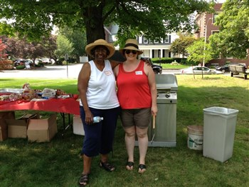 Eliot Newton Hosts Cookouts for Homeless