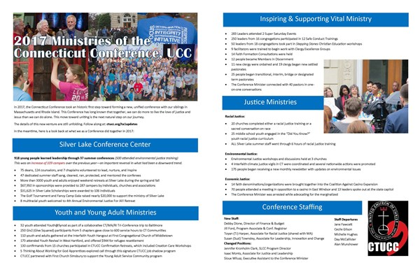 2017 CTUCC Year End Report