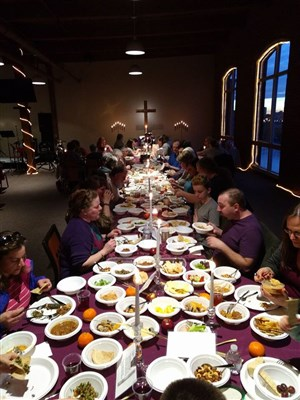 agape supper at phoenix rising