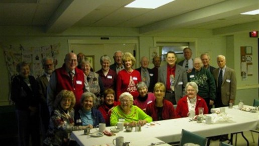 Central Retired Clergy and Discernment Students Luncheon