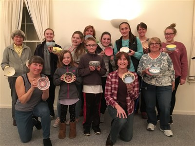 Lynnfield church youth use their artistic talents to raise awareness of hunger and homelessness